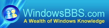 Windows BBS The Place for Microsoft Windows Support!